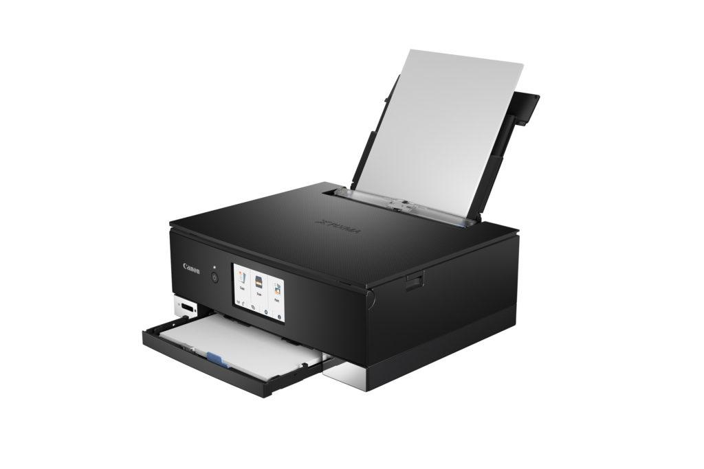 PIXMA TS8340 Paper tray up BK FSL